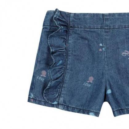 Къси панталонки за момиче Boboli