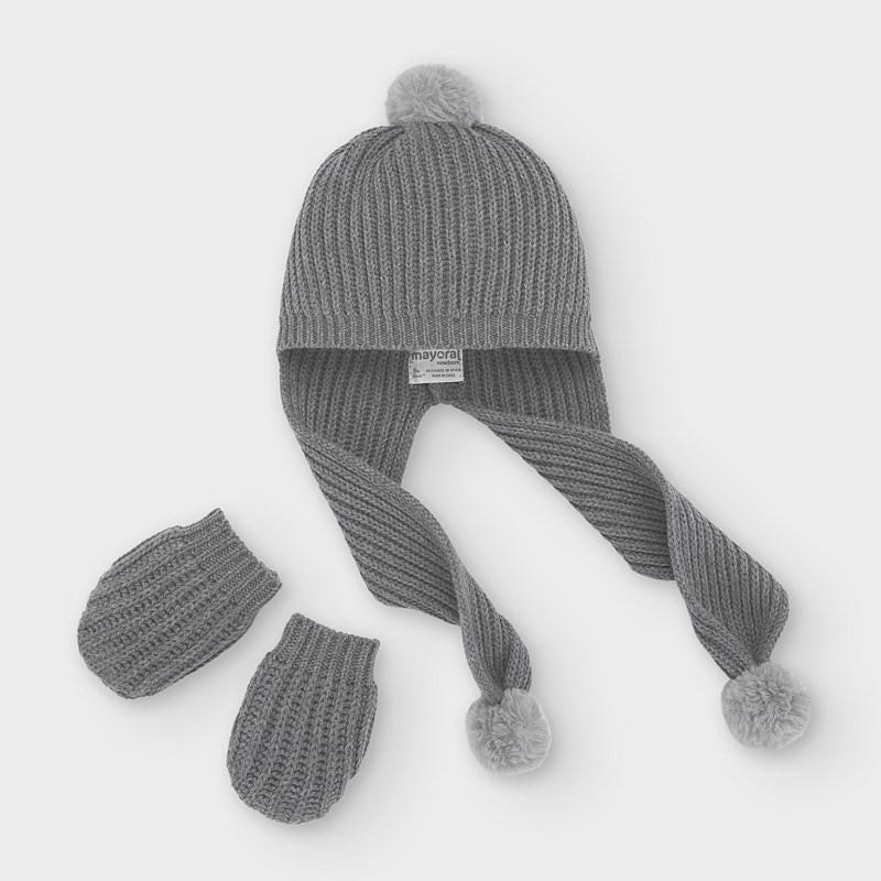 Комплект шапка и ръкавици...