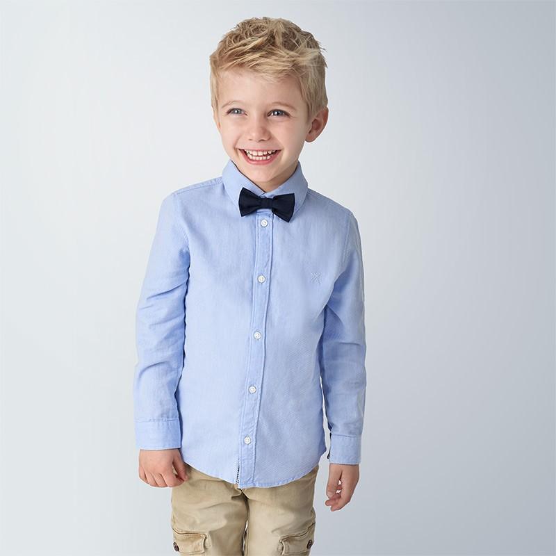 Риза с папионка за момче...
