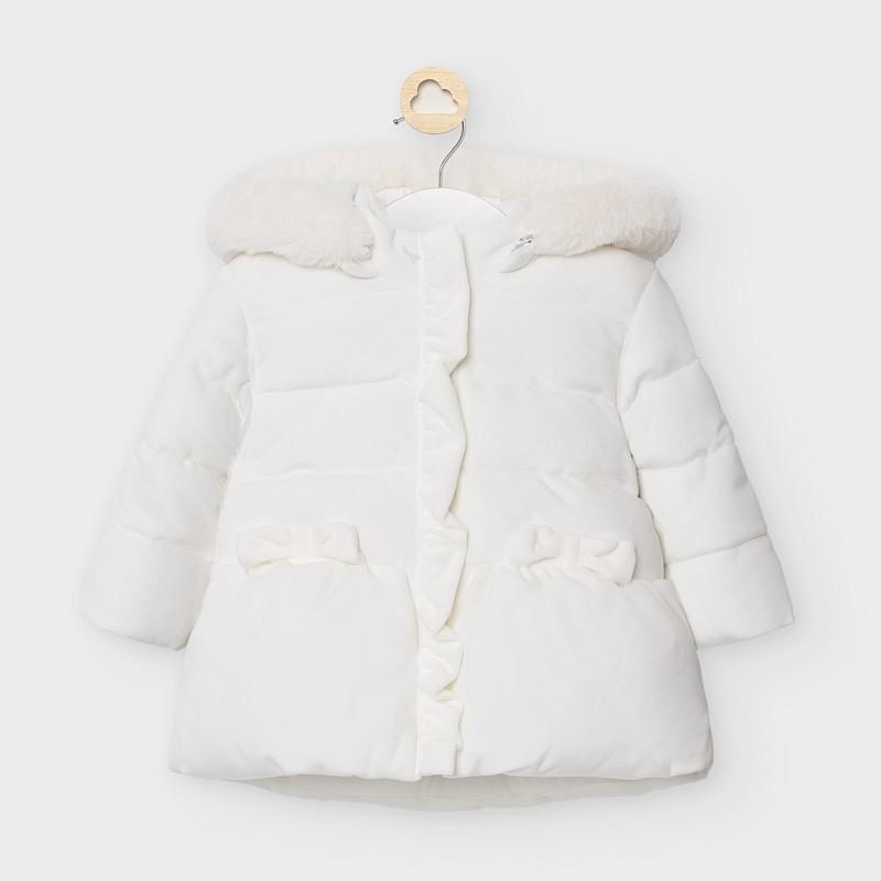 Дълго яке за бебе момиче...