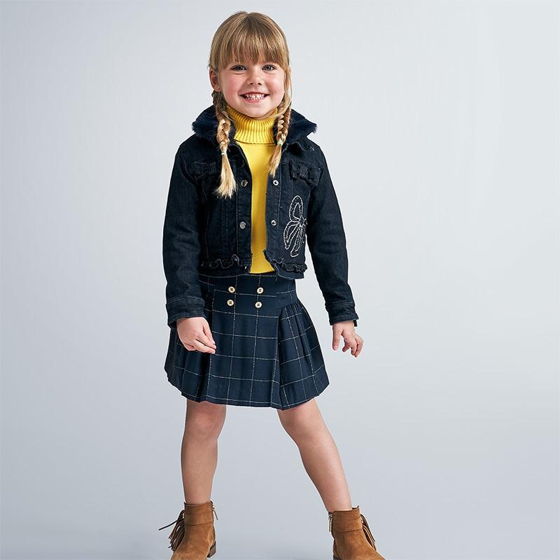 Дънково яке за момиче Mayoral
