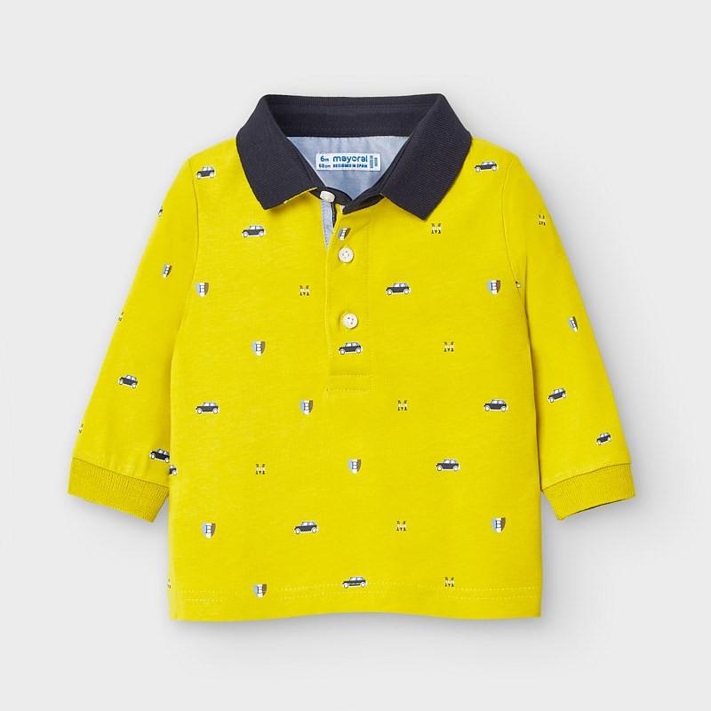 Блуза тип поло за бебе момче Mayoral