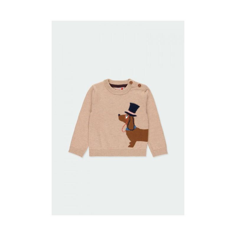 Пуловер за бебе момче Boboli