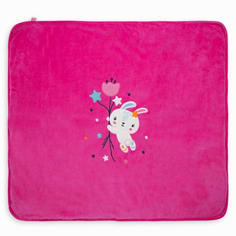 Одеяло за бебе момиче Tuc tuc