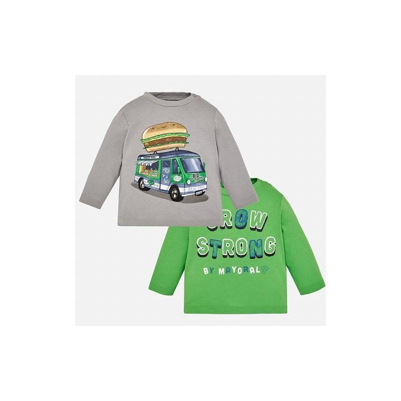 Комплект 2 броя блузи с дълъг ръкав за момче Mayoral