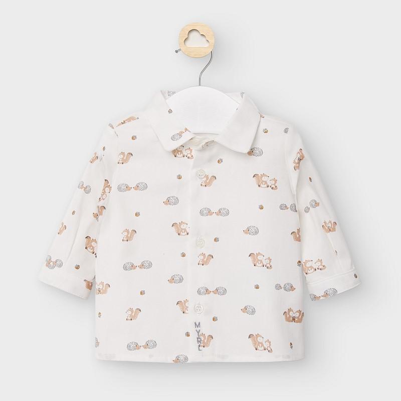 Риза за новородено момче...