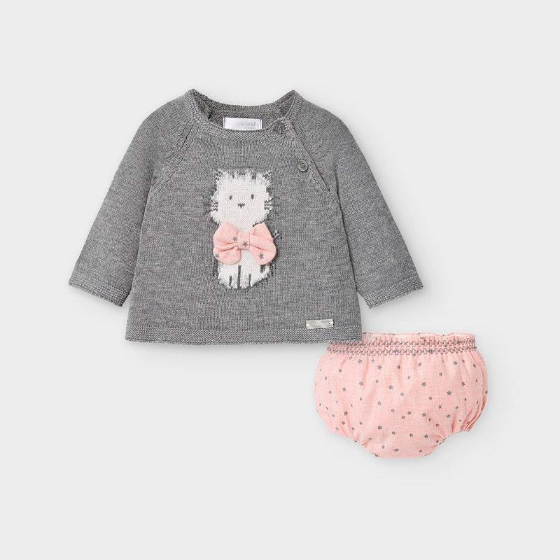 Комплект пуловер и гащички...