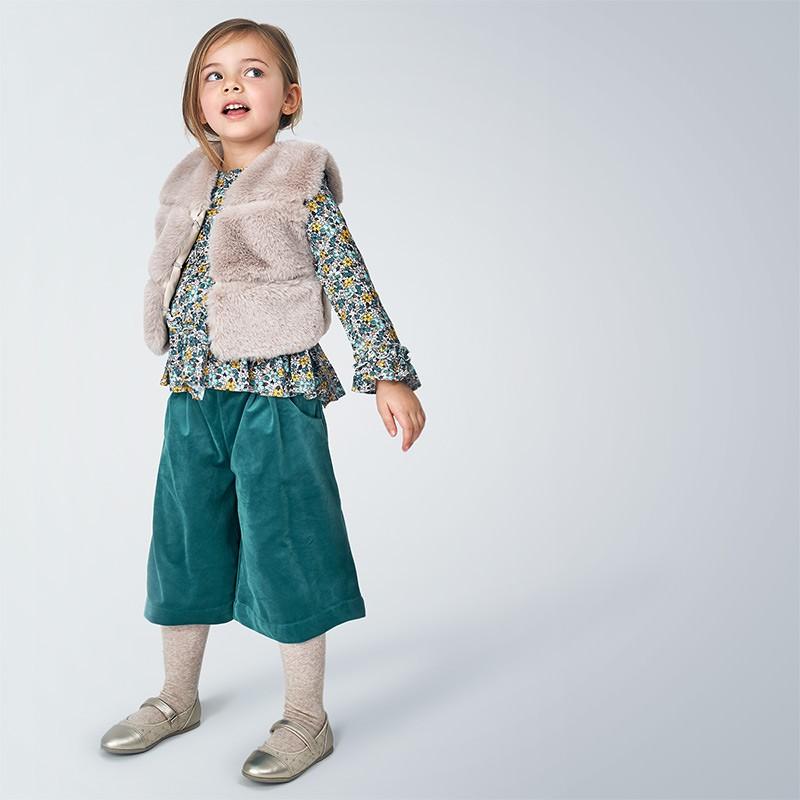 Широк панталон за момиче...