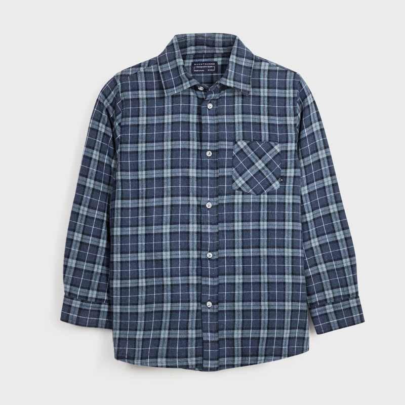 Риза с дълъг ръкав за момче...