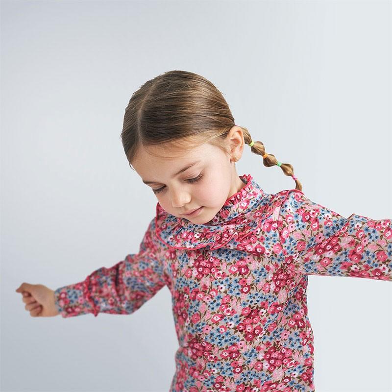 Елегантна блуза с дълъг...