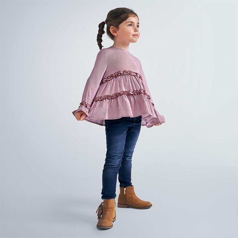 Елегантна блуза с дълъг ръкав за момиче Mayoral