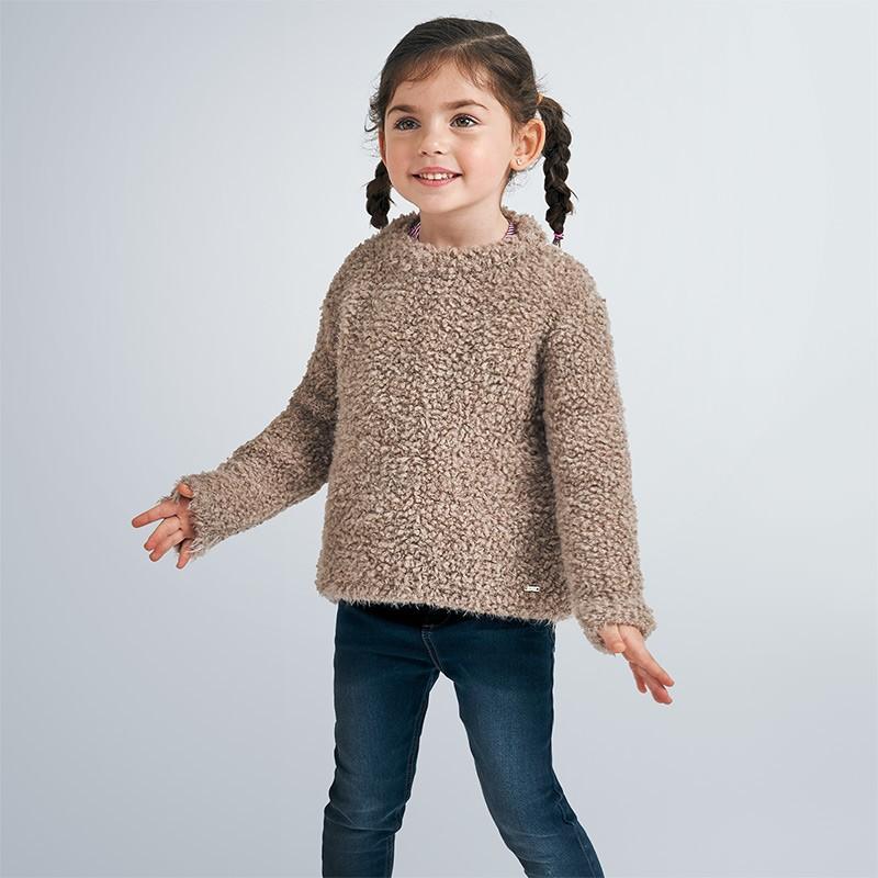 Пуловер с дълъг ръкав за момиче Mayoral