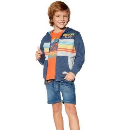 Къси дънкови панталонки за момче Losan
