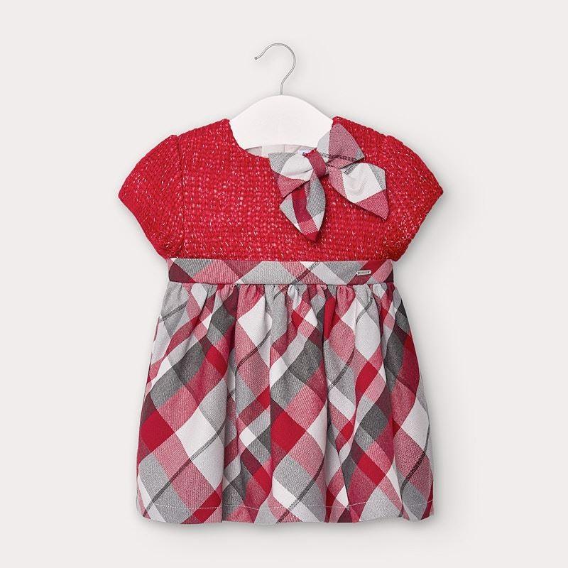 Официална рокля за бебе момиче Mayoral