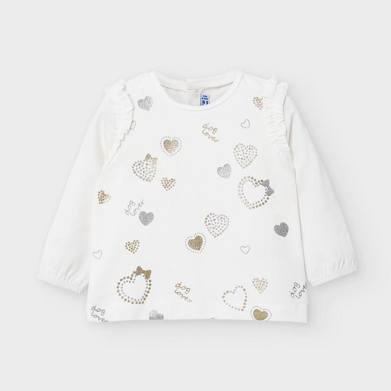 Блуза с дълъг ръкав за бебе...