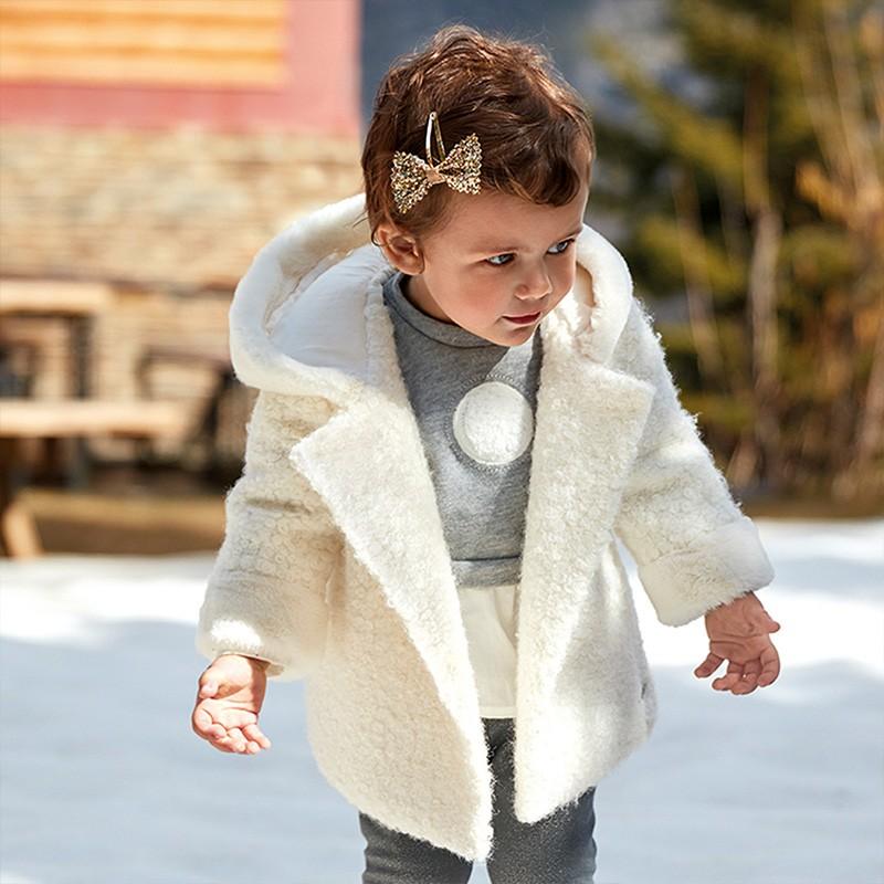 Палто с качулка за бебе...