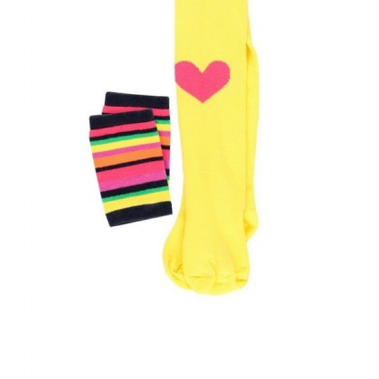 Памучен чорапогащник за момиче Boboli