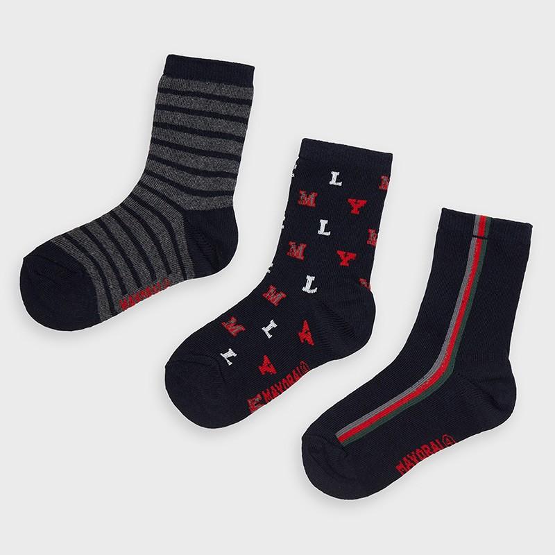 Комплект от 3 чифта чорапи...