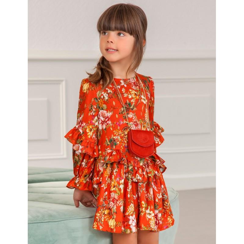 Елегантна флорална рокля...