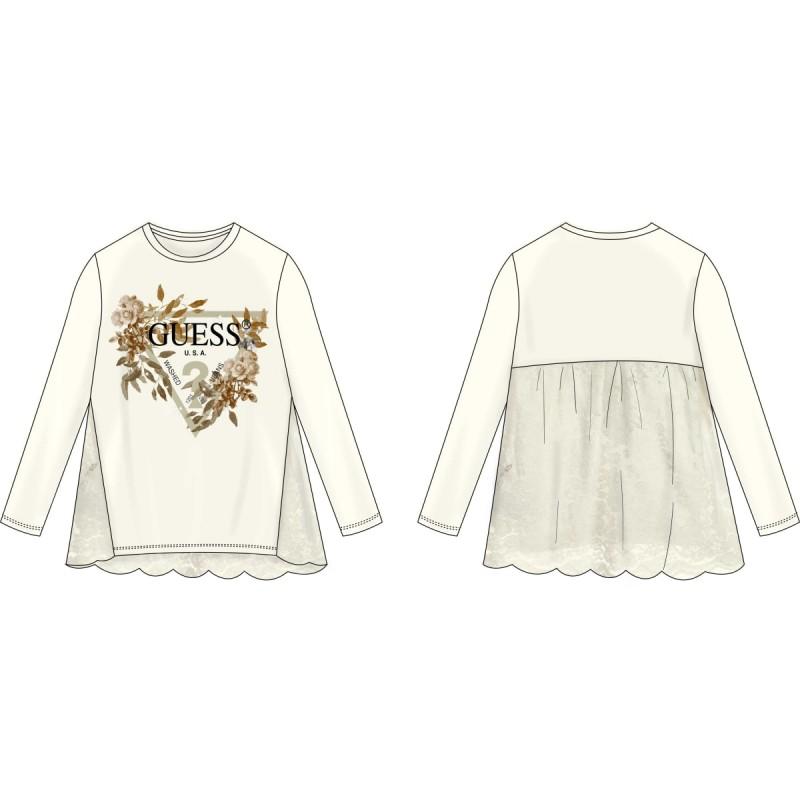 Ефирна блуза за момиче Guess