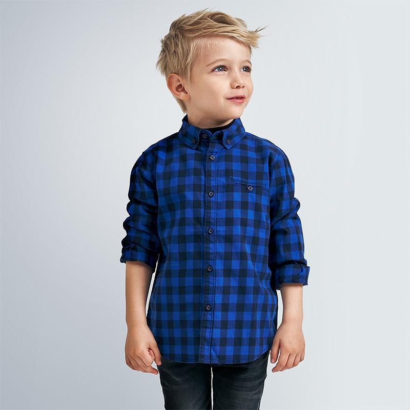 Карирана риза за момче Mayoral