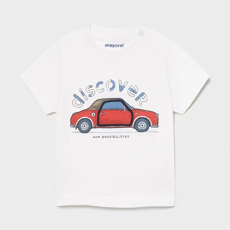 """Тениска """"кола"""" за бебе..."""