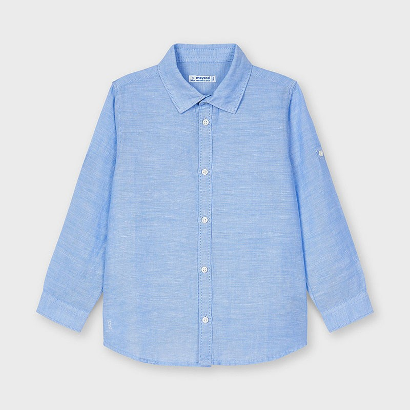 Ленена риза на момче Mayoral