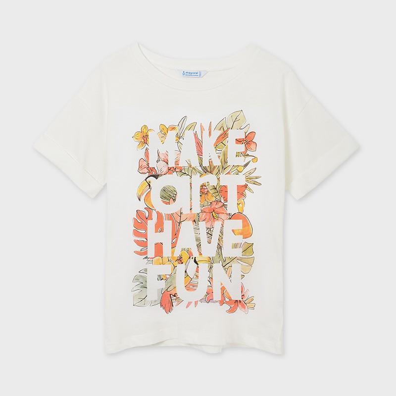 Тениска с надпис за момиче...
