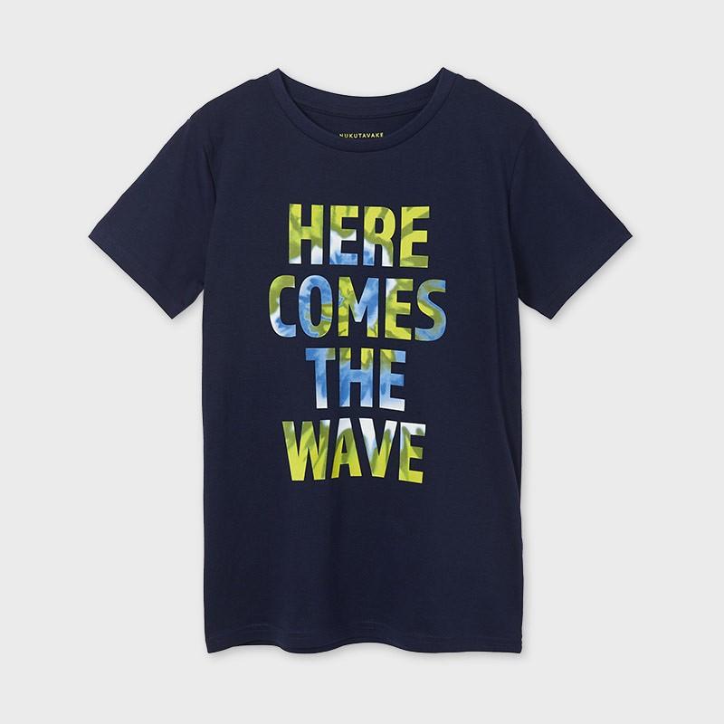 Тениска с надпис за момче Mayoral