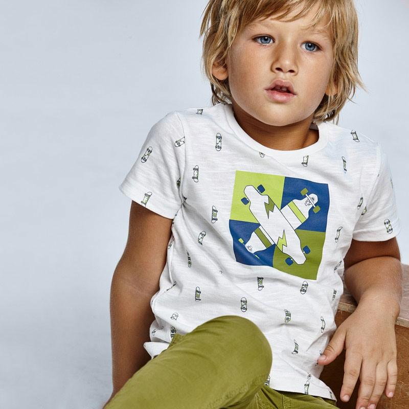 """Тениска с щампа 'Skate"""" за момче Mayoral"""