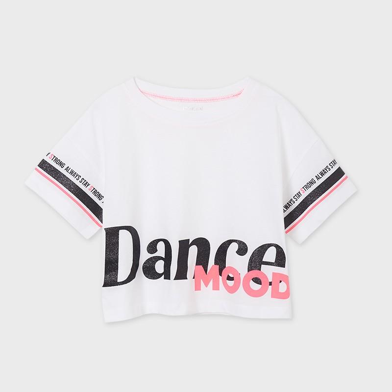 Къса тениска за момиче Mayoral