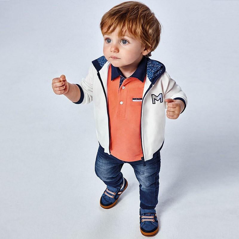 Дънков панталон за бебе момче Mayoral