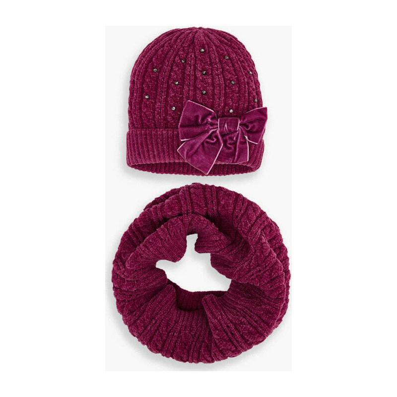 Комплект шапка и шал от...