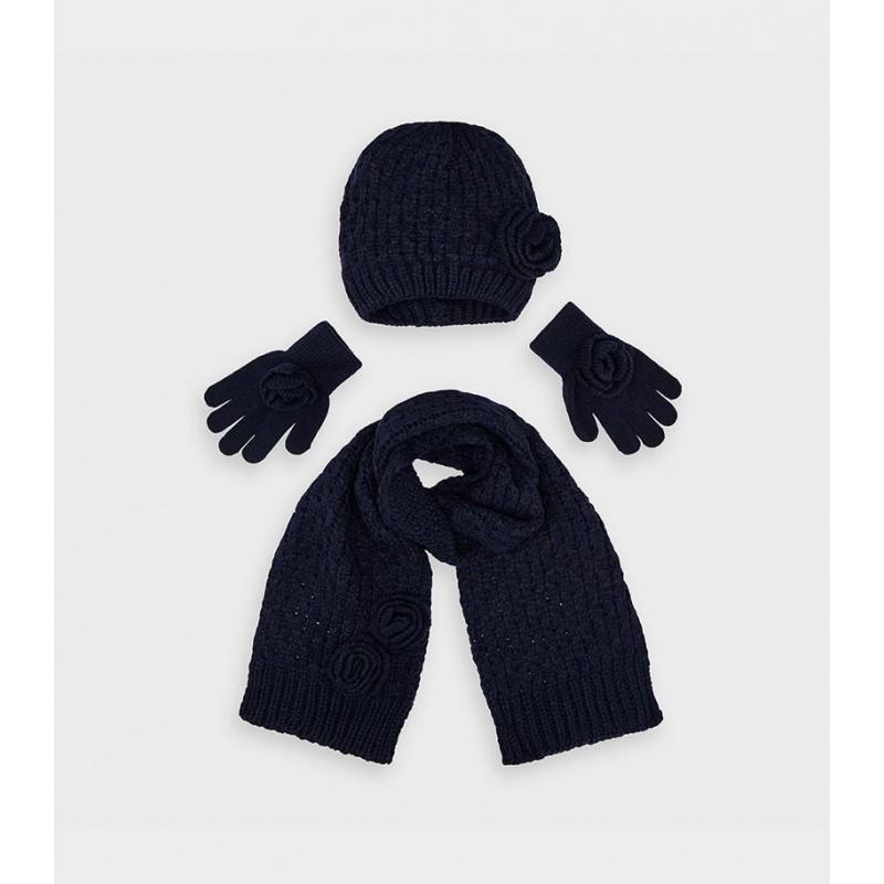 Комплект шапка, шал и ръкавици за момиче Mayoral