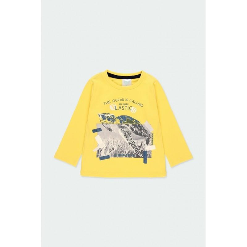 """Блуза с дълъг ръкав """"turtle"""" за момче Boboli"""