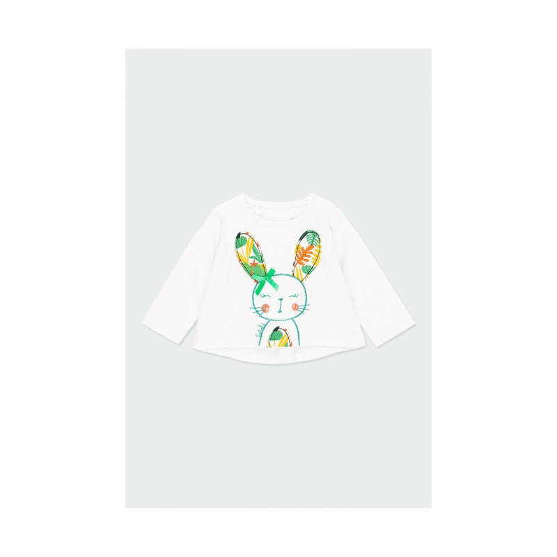 Блуза с дълъг ръкав за бебе момиче Boboli