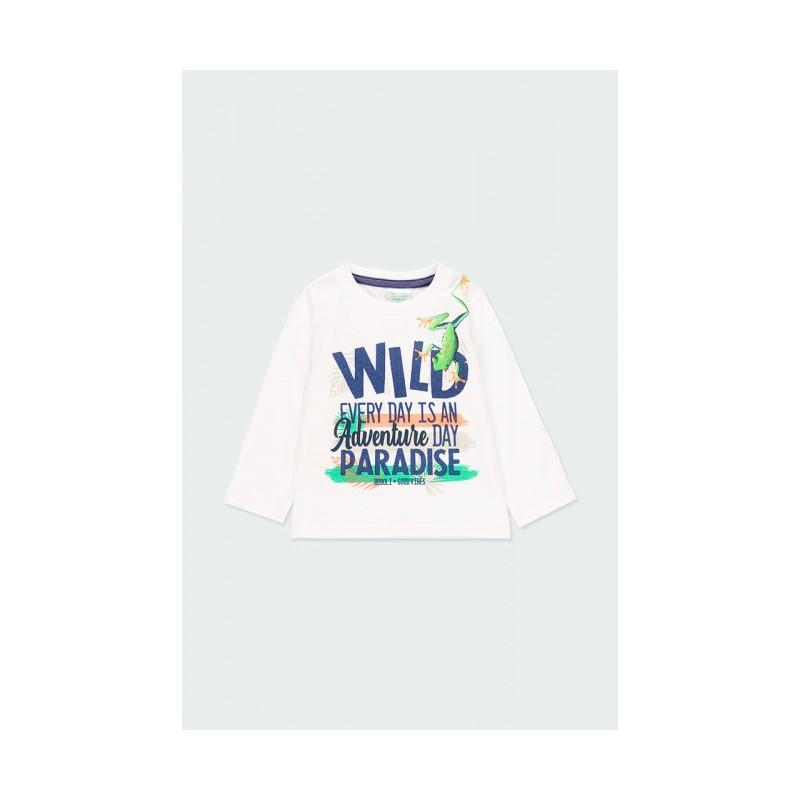 """Блуза с дълъг ръкав за момче """"wild"""" Boboli"""