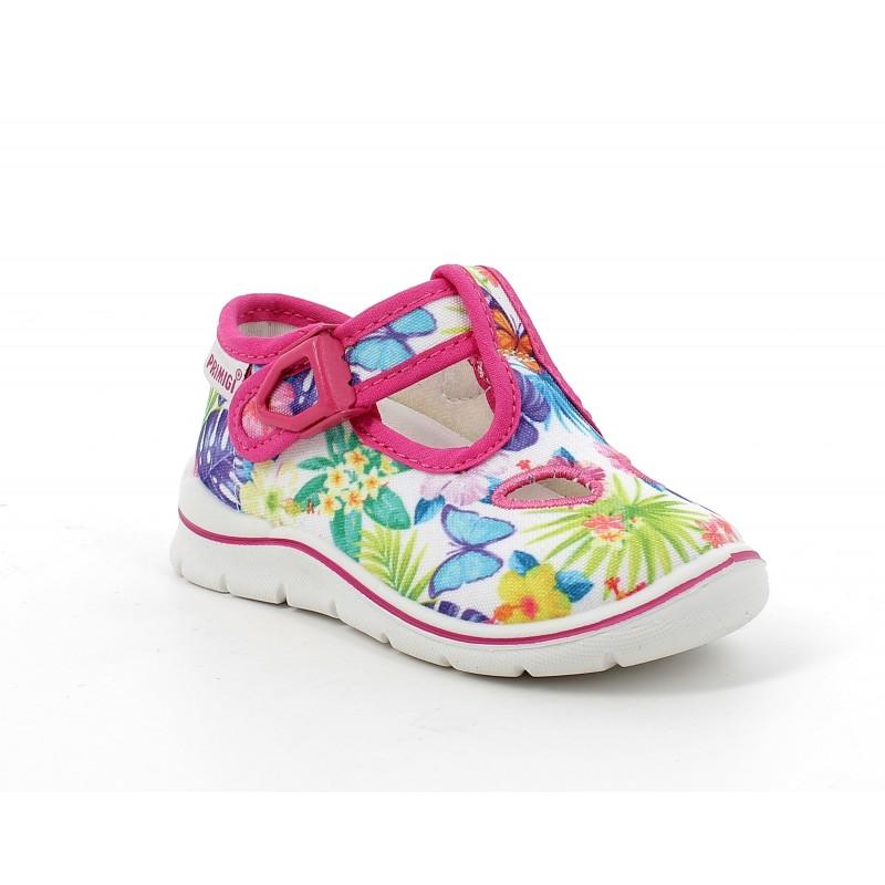 Текстилни обувки за бебе момиче PRIMIGI