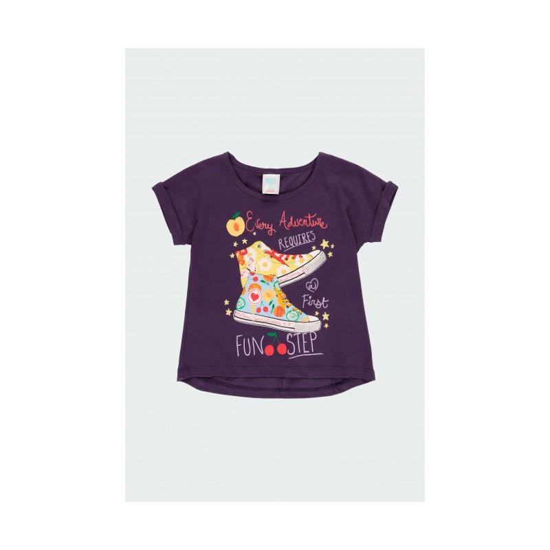 """Тениска за момиче """"Fun"""" Boboli"""