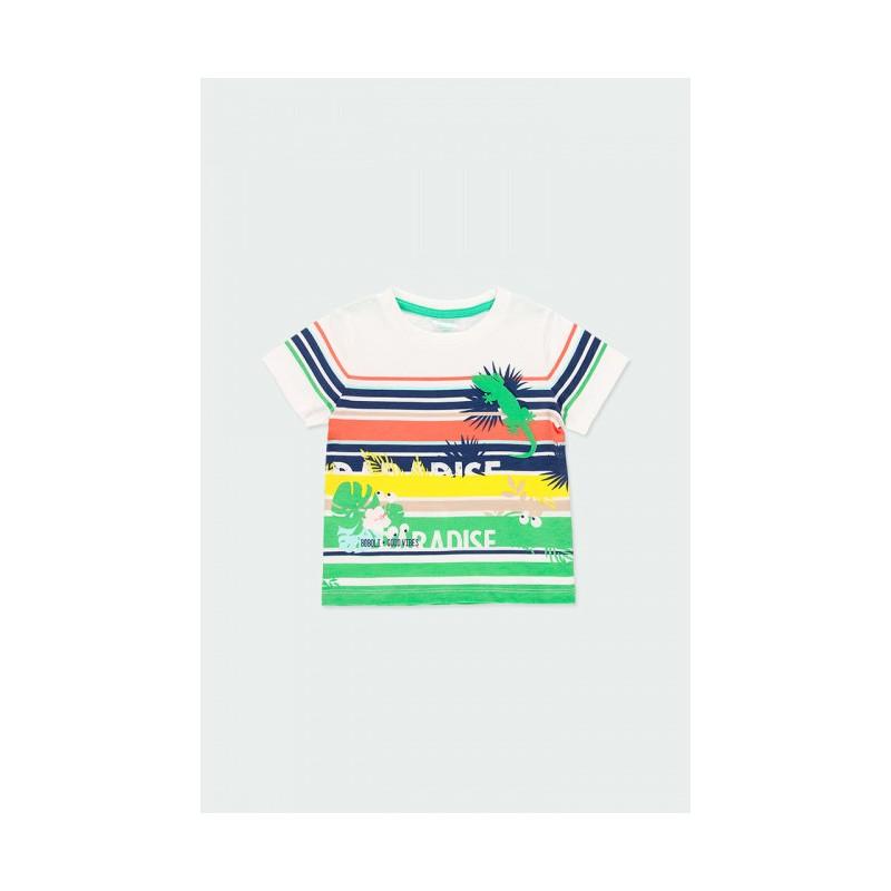 """Тениска за момче """"Paradise"""" Boboli"""