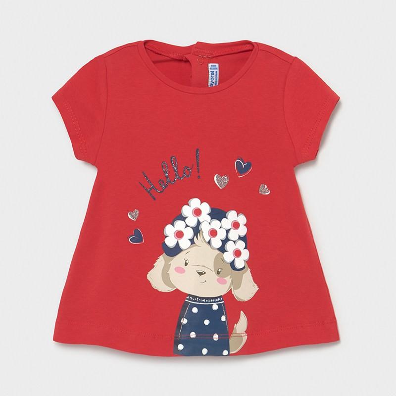 Тениска със забавна щампа...