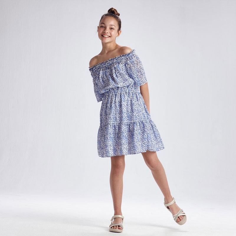 Ефирна рокля за момиче Mayoral