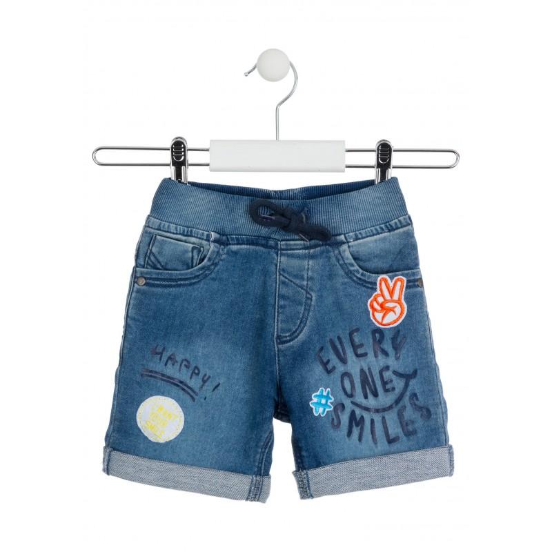 Дънкови панталонки за момче Losan