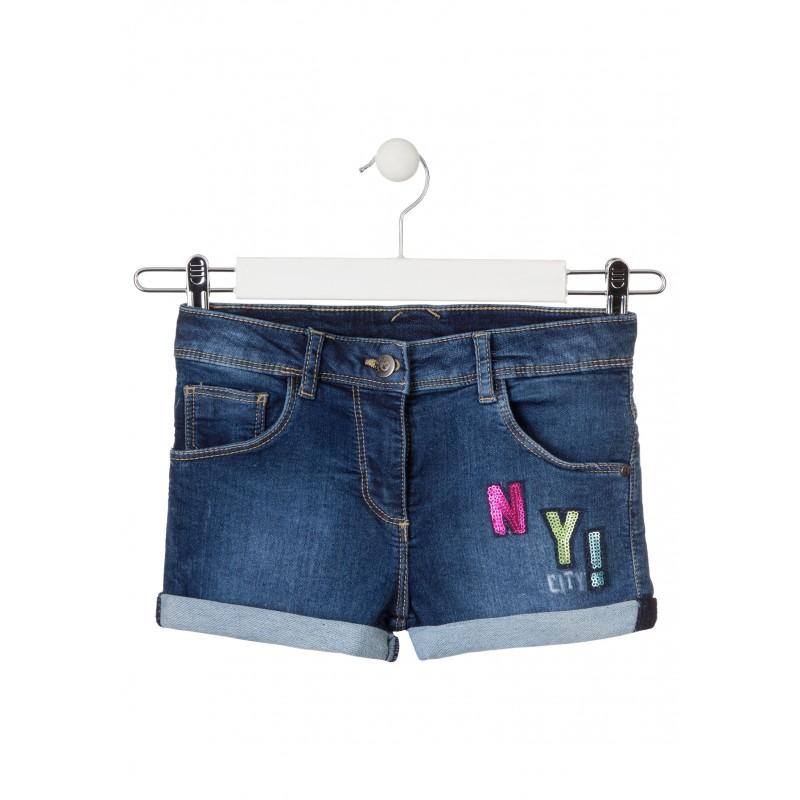 Къси панталонки за момиче Losan