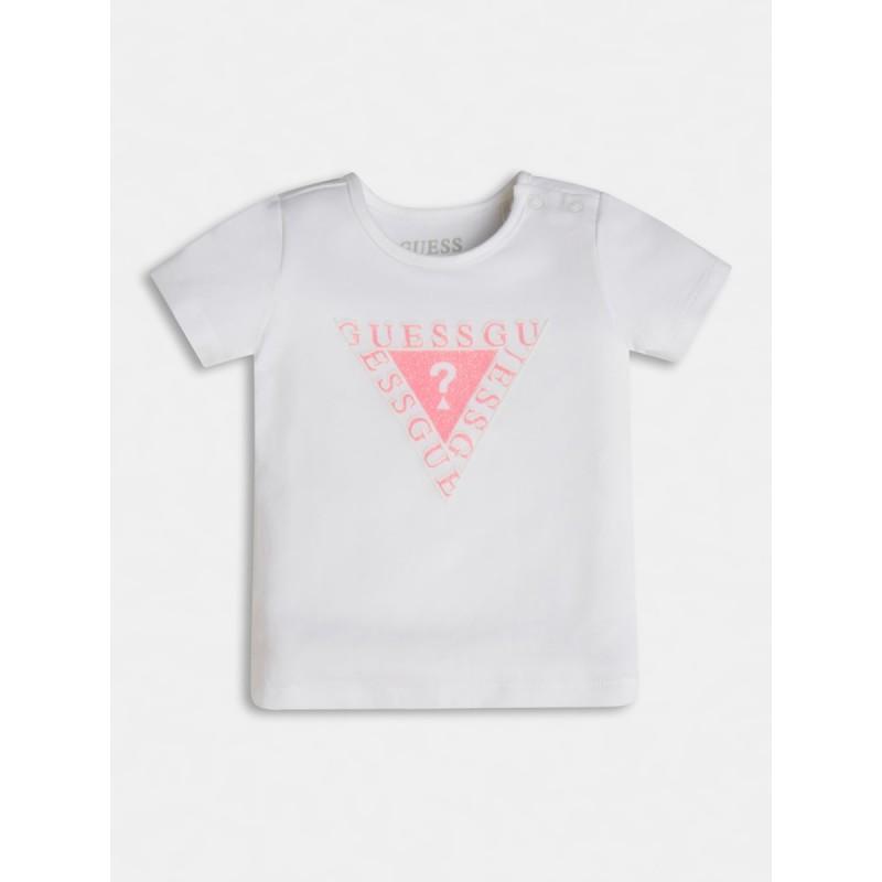 Тениска с лого за момиче GUESS