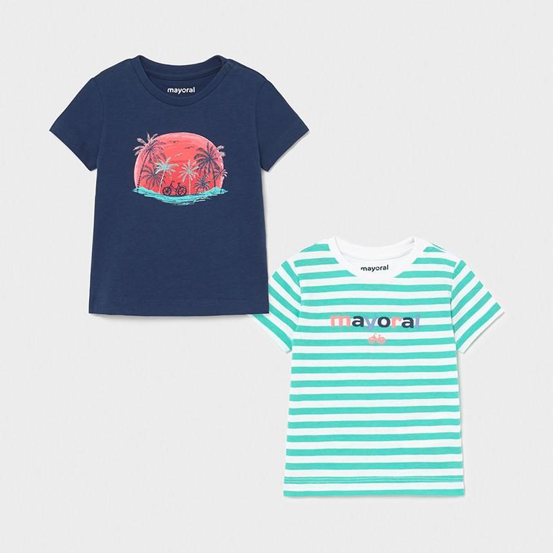 Комплект от 2 тениски за момче Mayoral