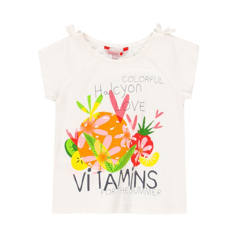Тениска за момиче Boboli