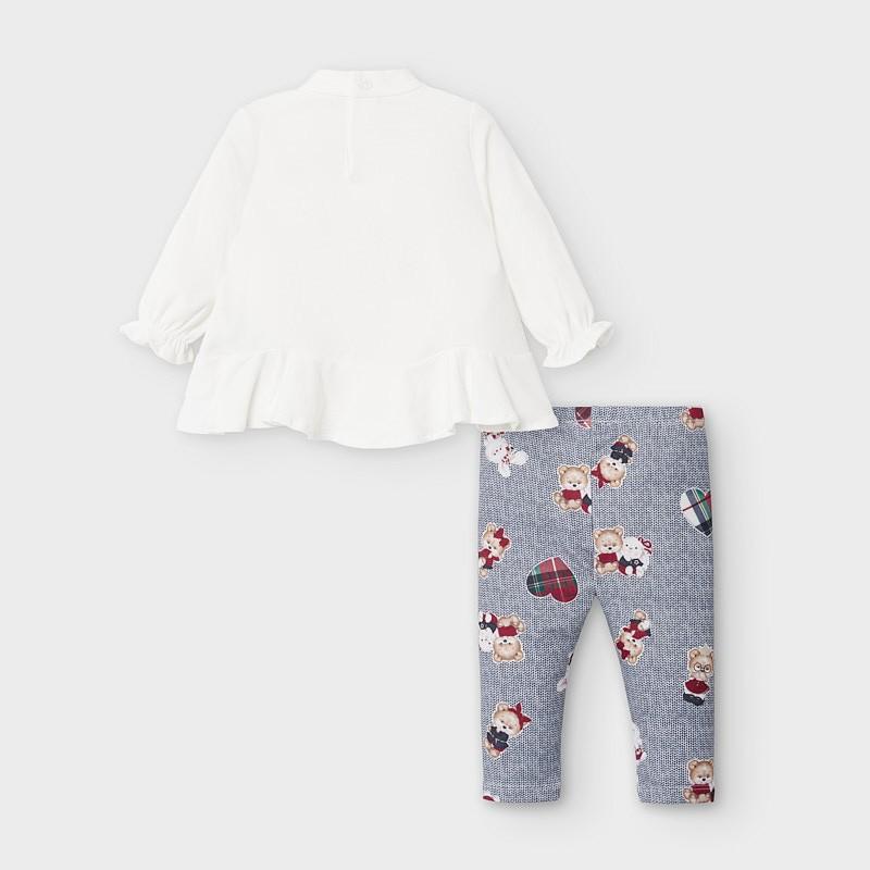 Комплект блуза с клин за бебе момиче Mayoral