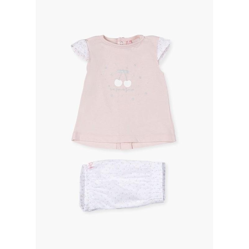Комплект от 2 части за бебе момиче Losan