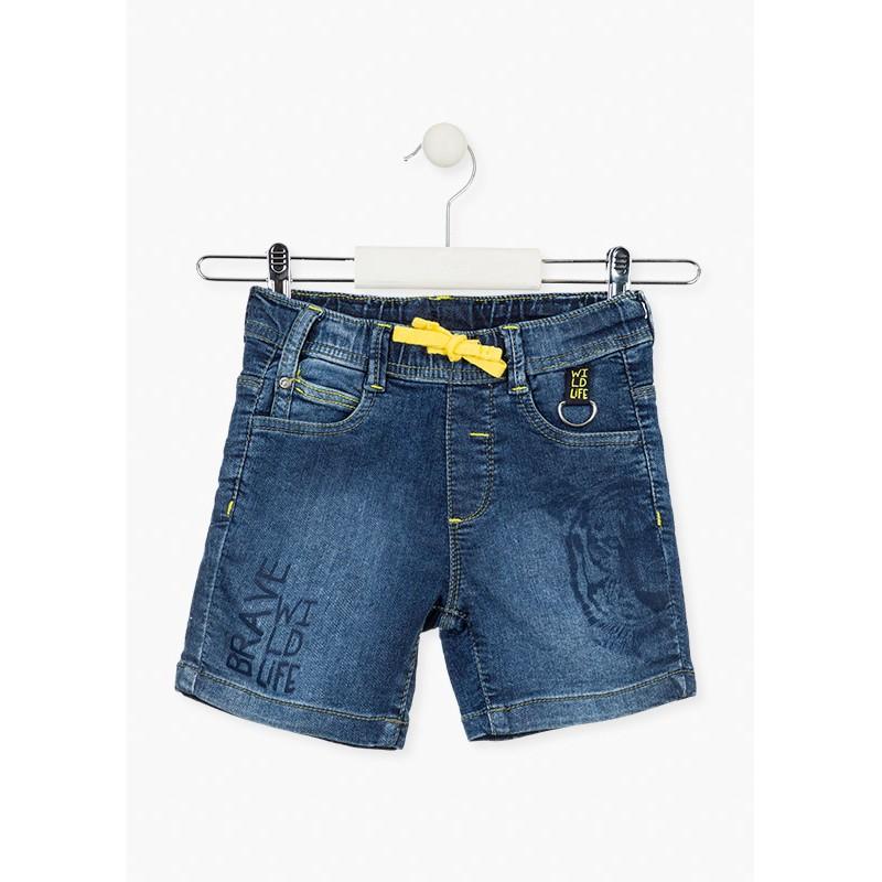 Къси дънкови панталони за момче Losan